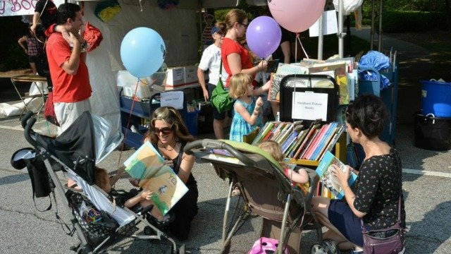 Book festival expected to draw thousands to Decatur Square