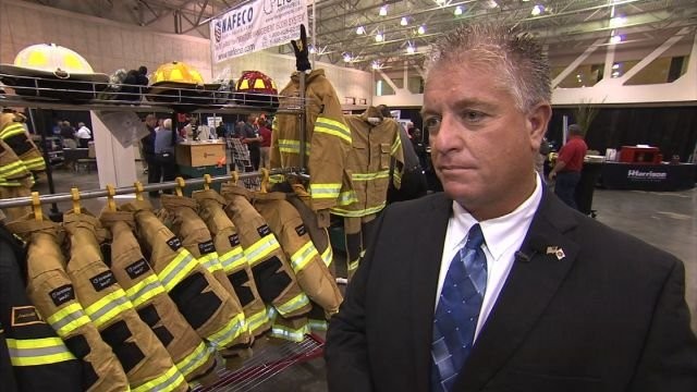 Dennis Thayer, chairman of the Georgia Fallen Firefighters Foundation speaks to CBS46 News