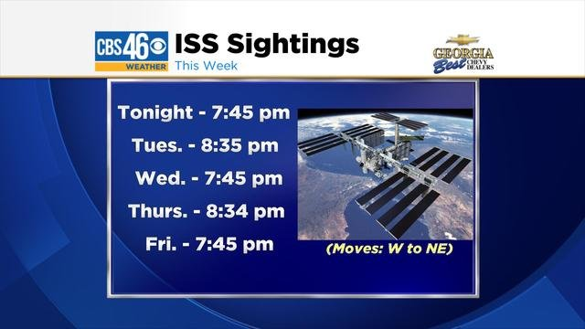 International Space Station Viewing Schedule (page 2 ...