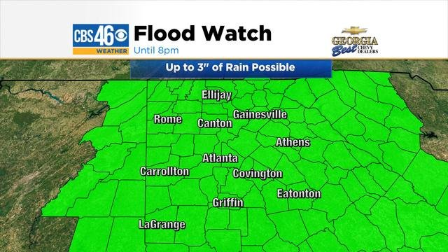 Flood watch in effect