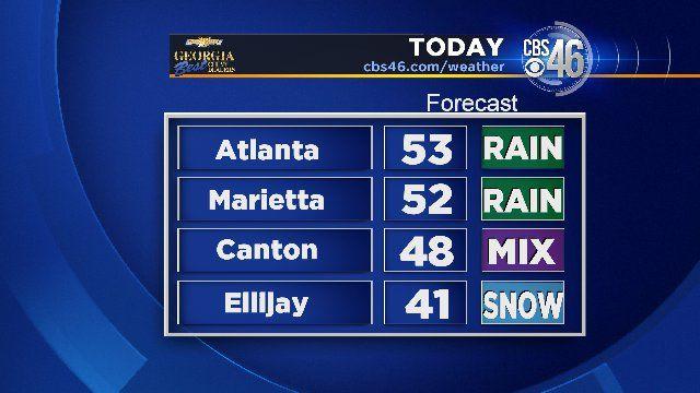 Wintry weather lingers in north Georgia - FOX Carolina 21
