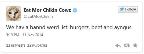 Reddit user posts words banned by Chick-fil-A manager - Arizona's Family