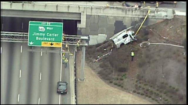 ATLANTA (CBS) - Four lanes of Interstate-85 are closed at Center Way ...