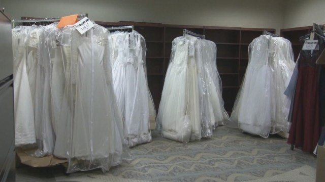 Hundreds Of Wedding Dresses For Sale In Atlanta After Drug