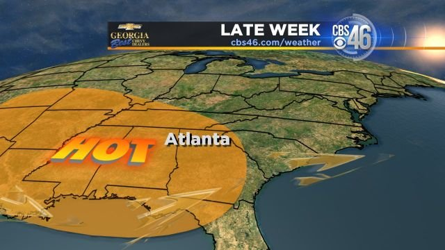 Image result for hot georgia weather