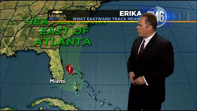 Will tropical storm erika impact atlanta for Walmart fishing license price