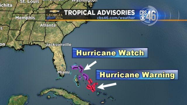 Tropical advisories