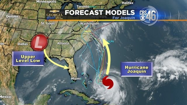 Steering patterns for Joaquin