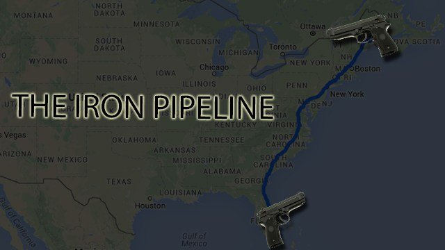 The Iron Pipeline Gun Trafficking In The United States