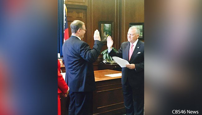 Bryson Howard sworn in as commissioner of the Department of Corrections.