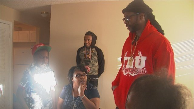 2 Chainz surprises family with rent payments and furniture