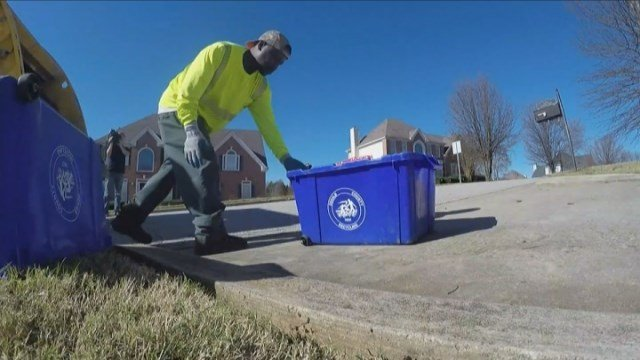 A DeKalb County sanitation worker is back on the job after being terminated 2 months ago.