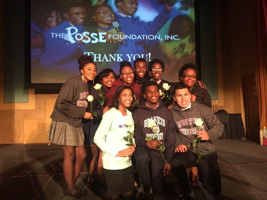 2015-2016 Posse Scholars
