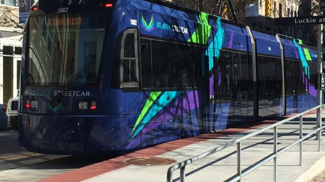 Atlanta Streetcars (Source: WGCL)