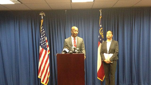 DeKalb County District Attorney Robert James