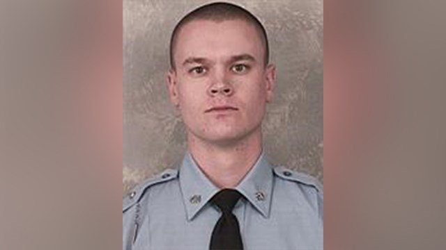 Jacob Fields, a 3 year veteran of the Georgia State Patrol was shot during a shootout with a suspect following chase January 27, 2016.