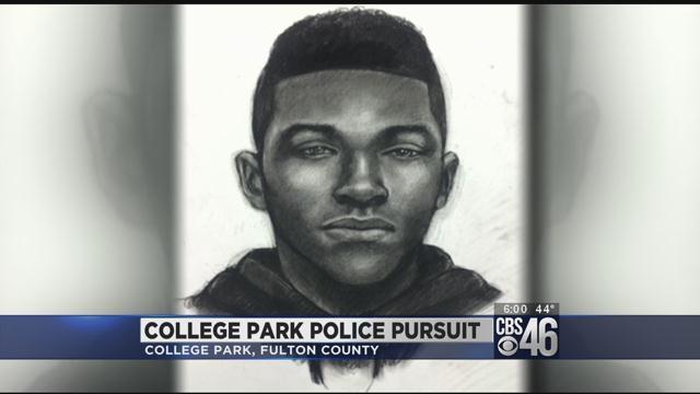Sketch released, $10K reward offered in fatal College Park chase crash