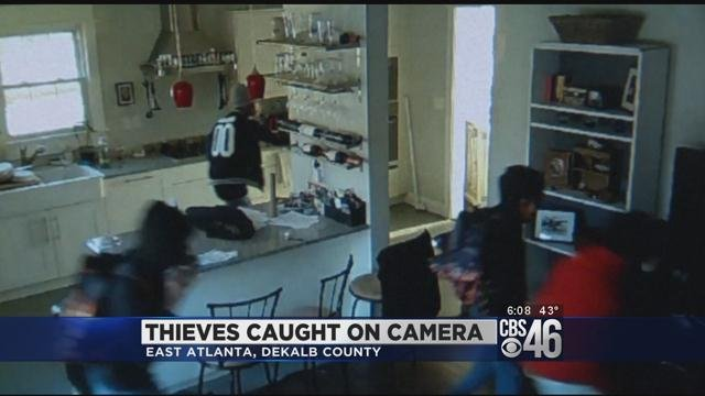 Homeowner captures brazen home invasion on camera