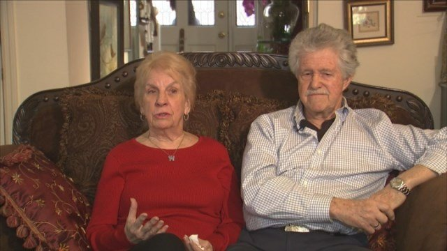 Elaine and Gordon Rondeau, supporters of Marsy's Law. Photo source: WGCL