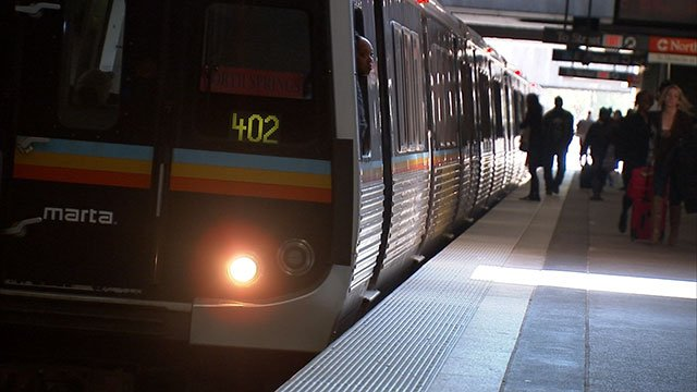 File photo of MARTA train (Source: WGCL)