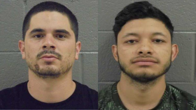 Juan Carlos Melchor-Valencia and Fernando Garcia Mendez were arrested for multiple drug trafficking charges. (Source: Banks County Sheriff's Office)